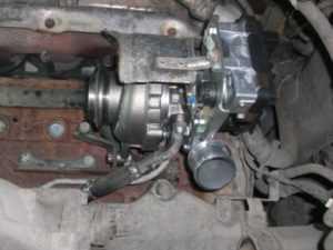 Замена турбины Land Rover Freelander 2